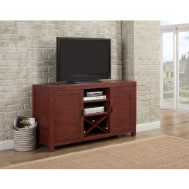 Glenwood Red TV Stand